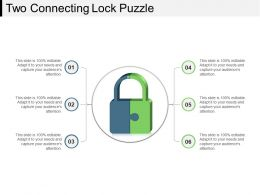 Two Connecting Lock Puzzle