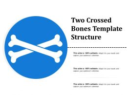 Two Crossed Bones Template Structure
