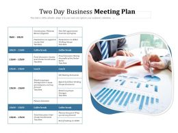 Two Day Business Meeting Plan