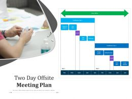 Two Day Offsite Meeting Plan