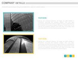 two_different_company_details_for_introduction_powerpoint_slides_Slide01