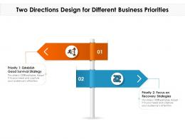 Two Directions Design For Different Business Priorities