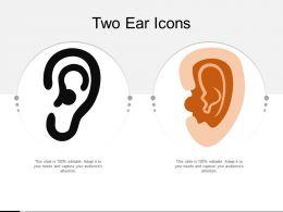 Two Ear Icons