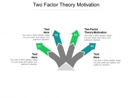 Two Factor Theory Motivation Ppt Powerpoint Presentation Visual Aids Example 2015 Cpb