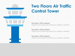 Two Floors Air Traffic Control Tower
