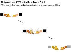 two_hands_for_money_exchange_idea_flat_powerpoint_design_Slide02