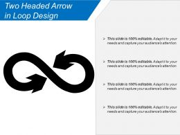 Two Headed Arrow In Loop Design