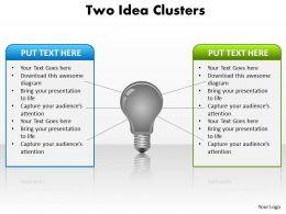 two_idea_clusters_powerpoint_slides_presentation_diagrams_templates_Slide01