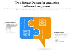 Two Jigsaw Design For Analytics Software Comparison