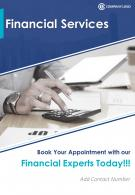 Two Page Financial Services Brochure Template