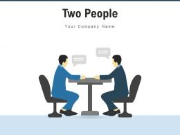 Two People Comparison Financial Strategy Formulation Infographic