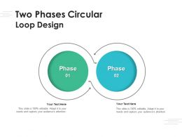 Two Phases Circular Loop Design