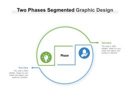 Two Phases Segmented Graphic Design