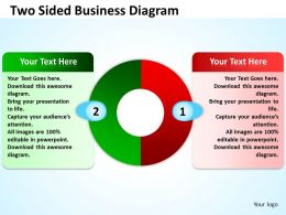 Two Sided Business Diagram 6