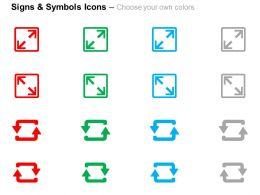 two_squares_two_arrows_direction_indication_ppt_icons_graphics_Slide02
