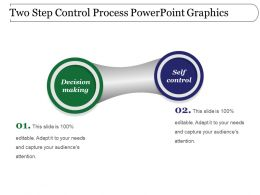Two Step Control Process Powerpoint Graphics