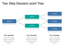 Two Step Decision Point Tree