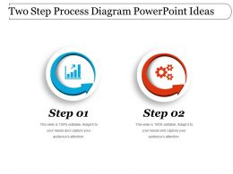 Two Step Process Diagram Powerpoint Ideas
