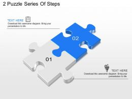 two_step_puzzle_diagram_powerpoint_template_slide_Slide02