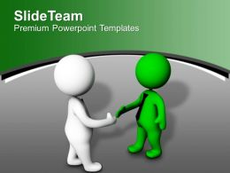 Two Teams Deal Business PowerPoint Templates PPT Themes And Graphics 0213