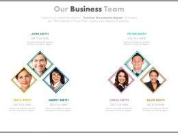 Two Teams For Business Success Achievement Powerpoint Slides