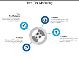Two Tier Marketing Ppt Powerpoint Presentation Icon Graphics Tutorials Cpb