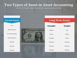 Two Types Of Asset In Asset Accounting