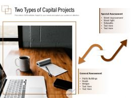 Two Types Of Capital Projects