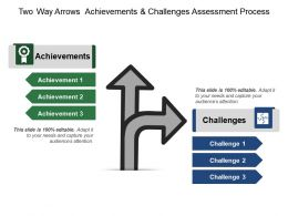Two Way Arrows Achievements And Challenges Assessment Process
