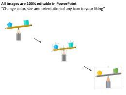 two_way_balance_diagram_flat_powerpoint_design_Slide02