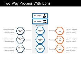 Two Way Process With Icons
