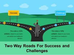 Two Way Roads For Success And Challenges