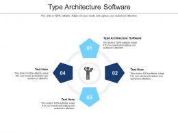 Type Architecture Software Ppt Powerpoint Presentation Pictures Samples Cpb