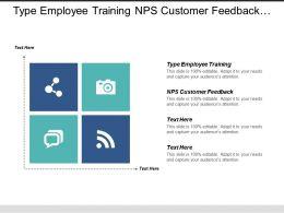 Type Employee Training Nps Customer Feedback Project Management Cpb