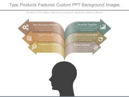 Type Products Features Custom Ppt Background Images