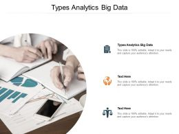 Types Analytics Big Data Ppt Powerpoint Presentation Show Background Image Cpb