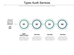 Types Audit Services Ppt Powerpoint Presentation Show Objects Cpb
