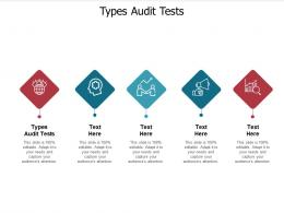 Types Audit Tests Ppt Powerpoint Presentation Slides Show Cpb
