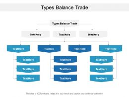 Types Balance Trade Ppt Powerpoint Presentation Icon Tips Cpb