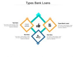 Types Bank Loans Ppt Powerpoint Presentation Layouts Visuals Cpb