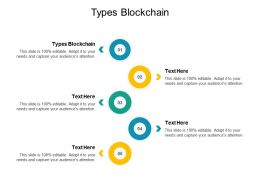 Types Blockchain Ppt Powerpoint Presentation Ideas Cpb