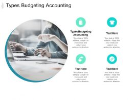 Types Budgeting Accounting Ppt Powerpoint Presentation Ideas Example File Cpb