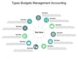 Types Budgets Management Accounting Ppt Powerpoint Presentation Infographic Template Cpb