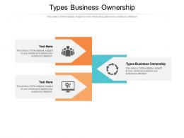 Types Business Ownership Ppt Powerpoint Presentation Layouts Inspiration Cpb