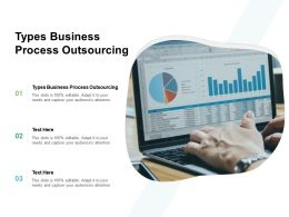 Types Business Process Outsourcing Ppt Powerpoint Presentation Show Elements Cpb