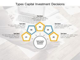 Types Capital Investment Decisions Ppt Powerpoint Presentation Styles Rules Cpb