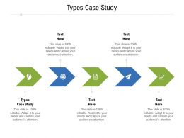 Types Case Study Ppt Powerpoint Presentation Ideas Graphics Example Cpb