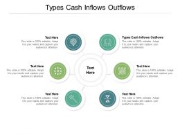 Types Cash Inflows Outflows Ppt Powerpoint Presentation Show Design Templates Cpb