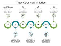 Types Categorical Variables Ppt Powerpoint Presentation Outline Smartart Cpb