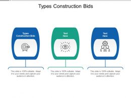 Types Construction Bids Ppt Powerpoint Presentation File Graphics Download Cpb